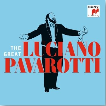 reseña CD: The great Luciano Pavarotti. Sony ***