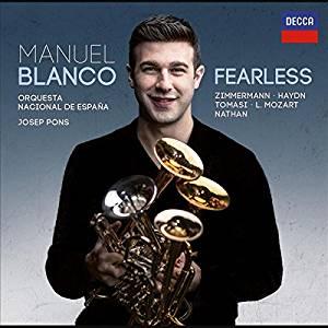 Reseña cd: Fearless. Manuel Blanco. OCNE. Josep Pons.