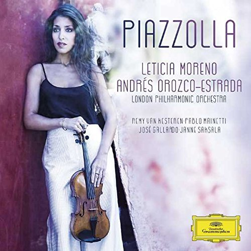 Reseña de CD: Piazzolla por Leticia Moreno
