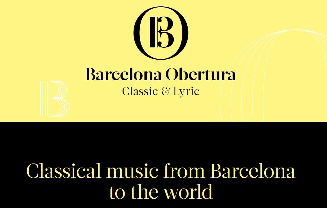 Festival de música clásica en Barcelona 2019