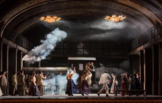 Neopercusión, junto al Coro Nacional de España, en el Auditorio