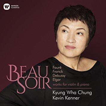 Reseña CD: Beau soir. Wha Chung, Kenner