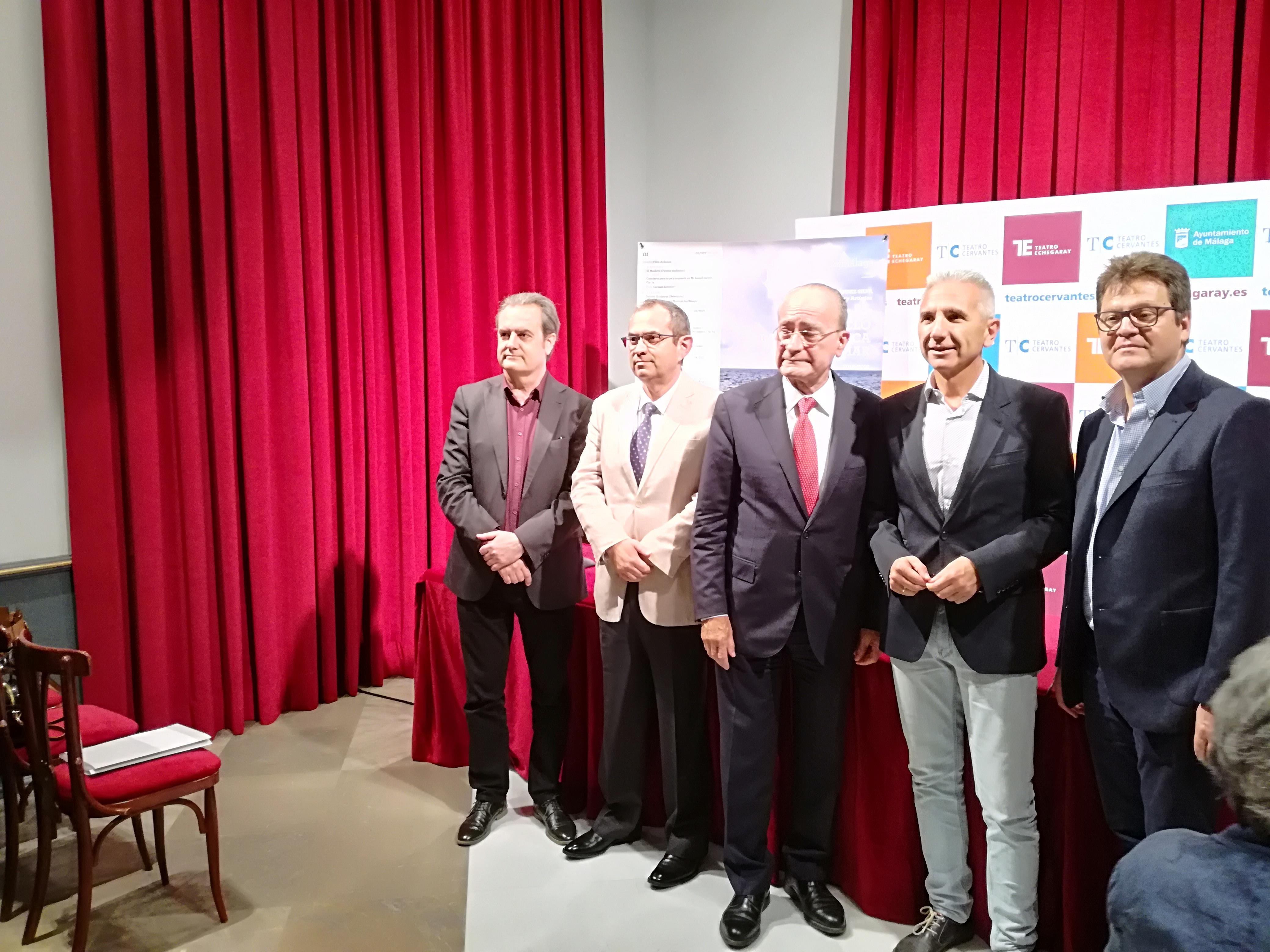 Nueva temporada de la Orquesta Filarmónica de Málaga 18/19