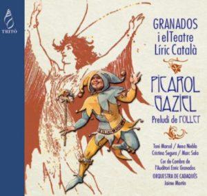 """Reseña CD: Granados, """"Picarol"""" y """"Gaziel"""". Cadaqués"""