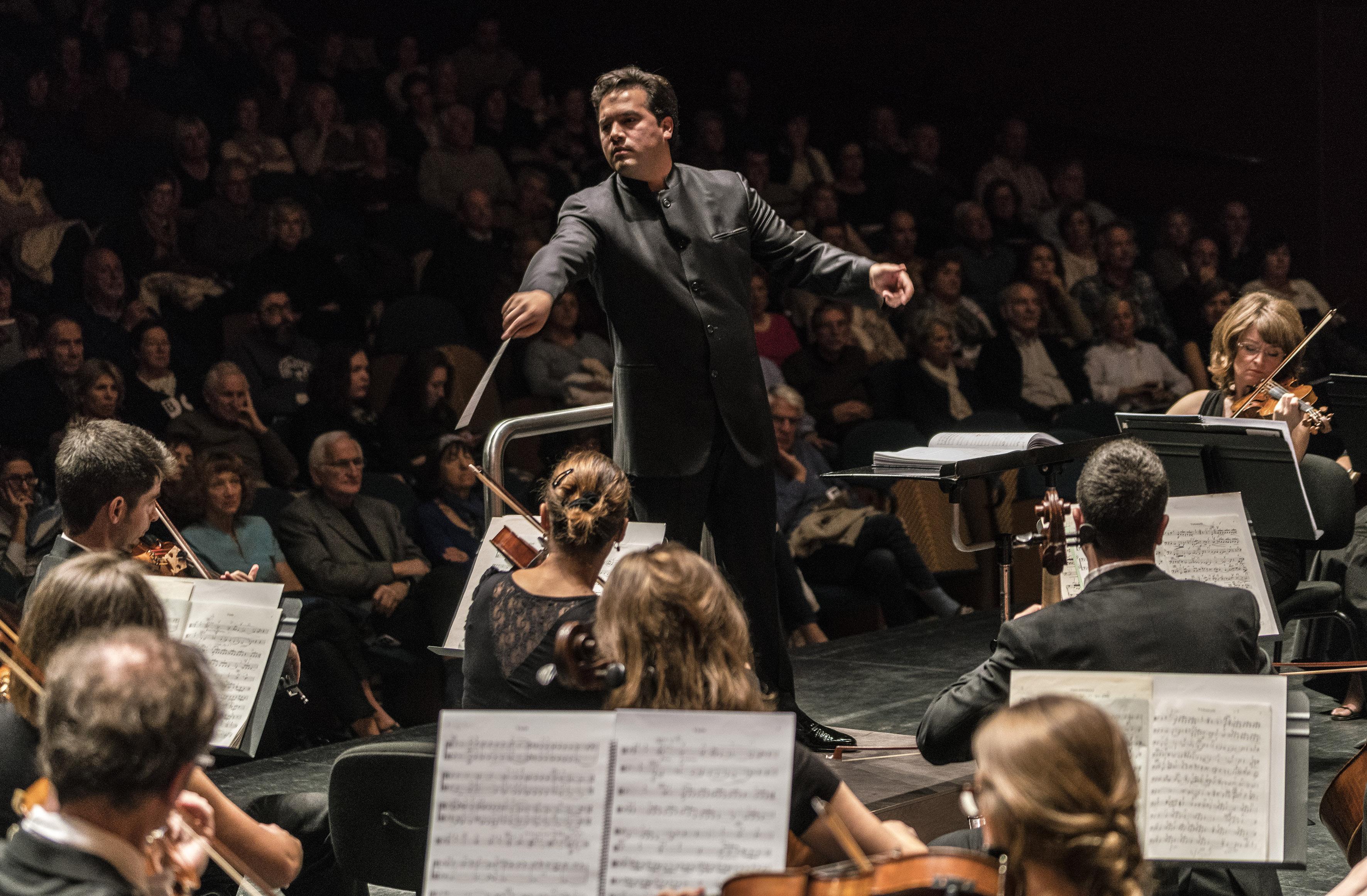 Montero y Grieg darán el adiós de la Orquesta de Gran Canaria