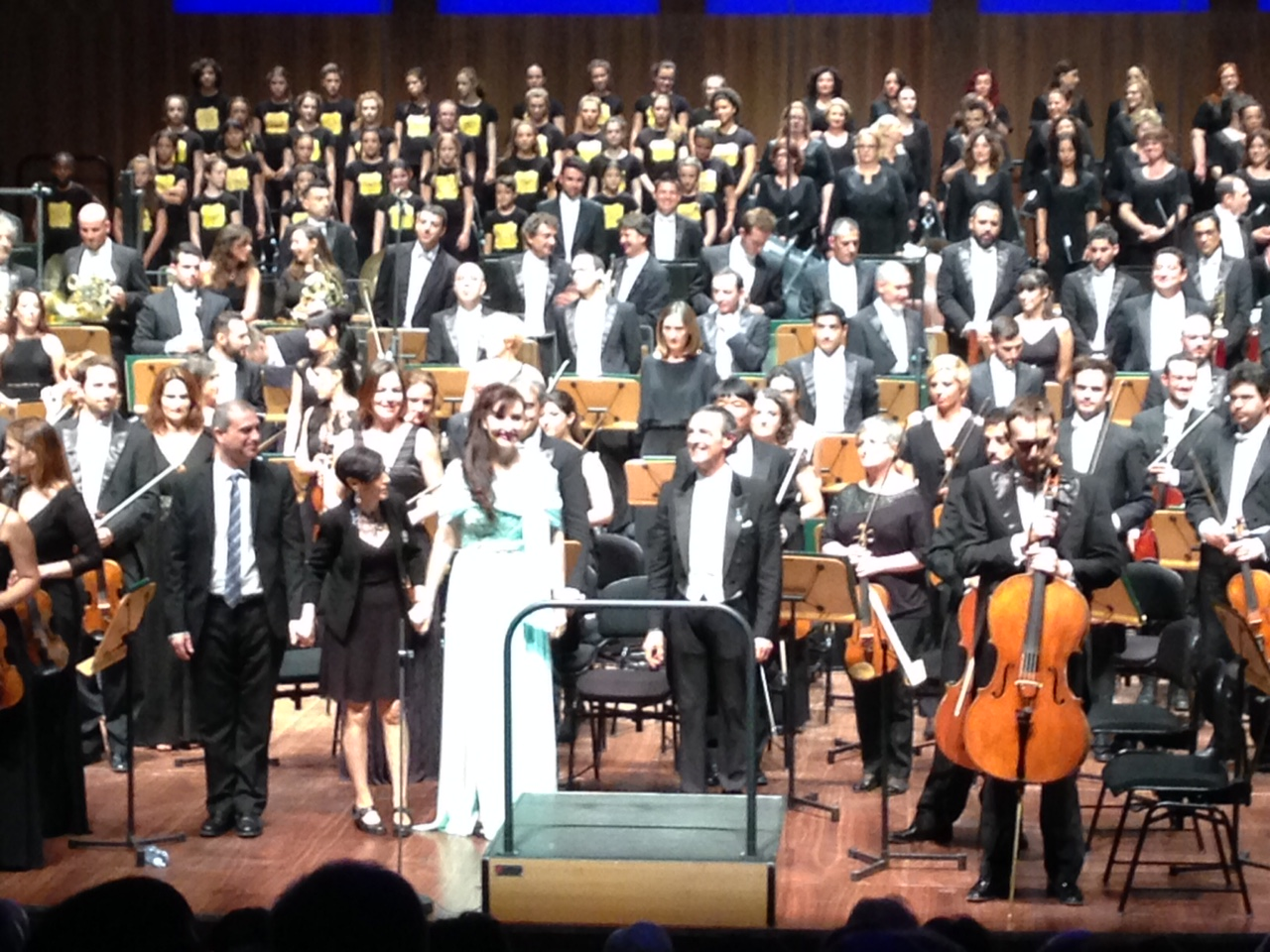 Montero y Grieg darán el adiós de la Orquesta de Gran Canaria