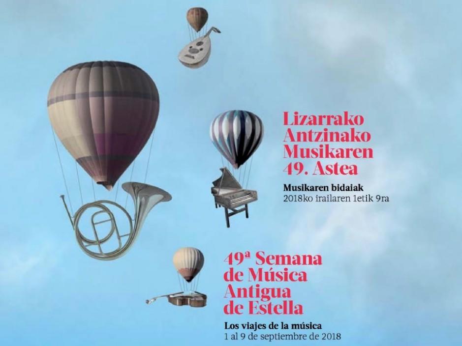Comienza la 49º Semana de Música Antigua de Estella