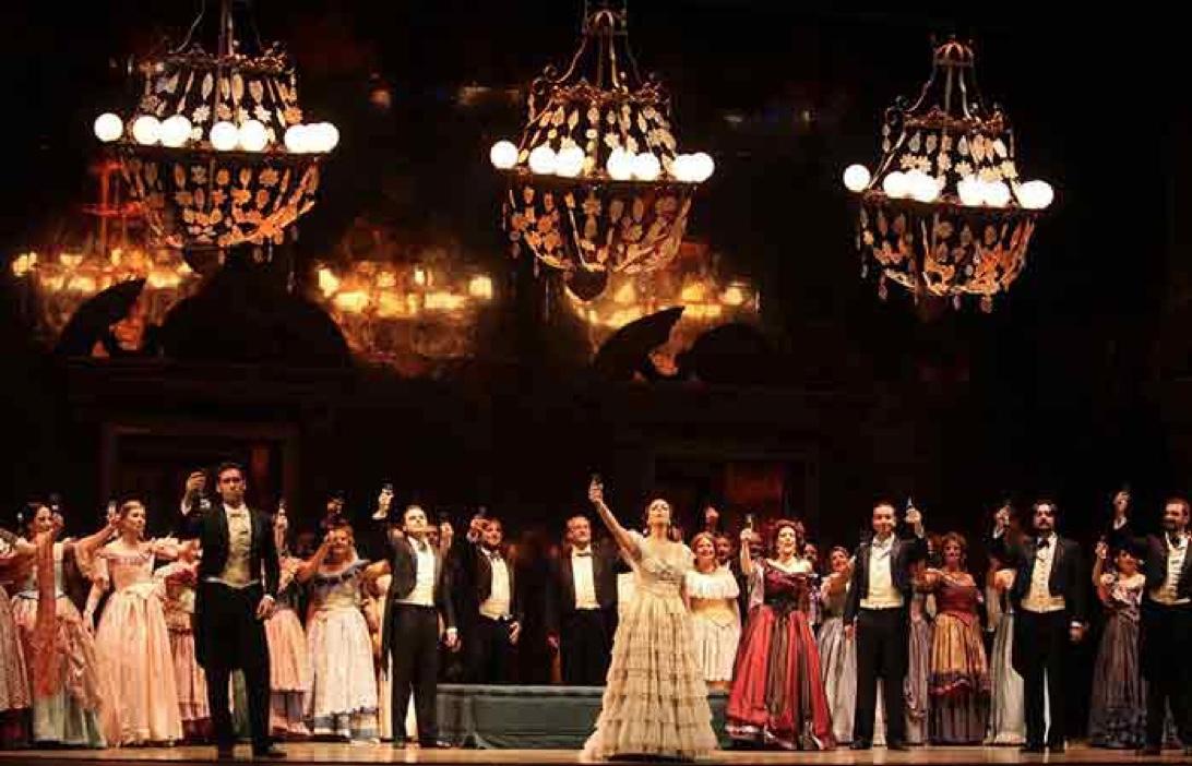 Inicio de premieres en la Ópera de Munich