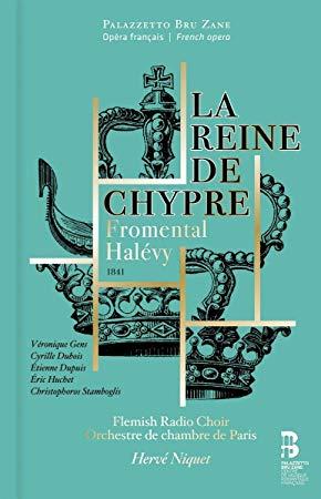 Reseña cd: La Reina de Chipre de Halevy