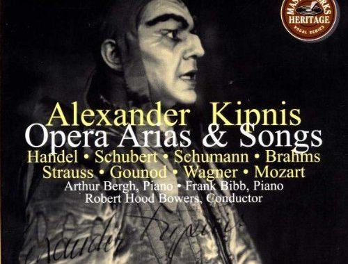 Reseña cd: Opera arias&songs. Kipnis