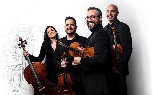 El Cuarteto Quiroga presenta su último álbum 'Heritage'