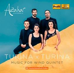 Reseña CD: AZAHAR: Turina x Turina. Hänssler