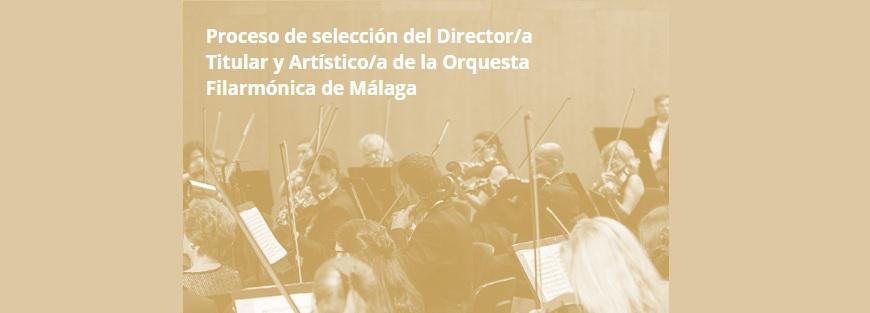 Abierta convocatoria para dirección de la Filarmónica de Málaga