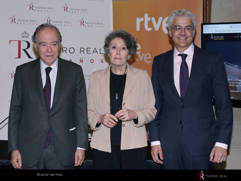 Palco Digital: Teatro Real y RTVE renuevan su colaboración