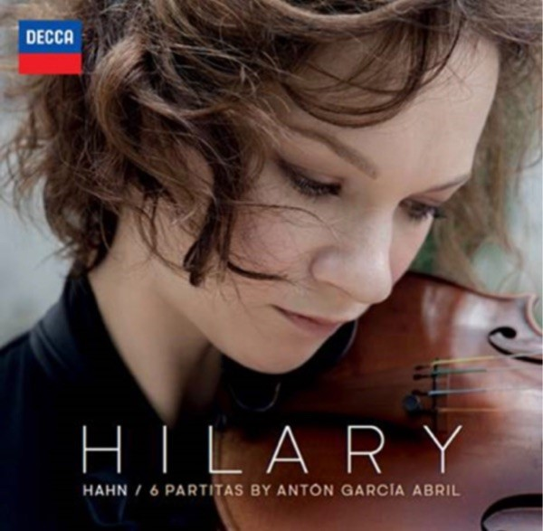 Reseña cd: García Abril, 6 Partitas. Hilary Hahn