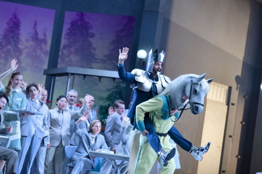Crítica: Excelente producción de Don Quijote en Berlín