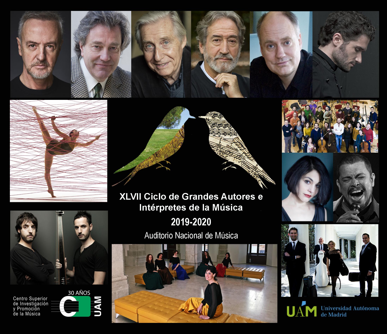XLVII Ciclo de Grandes Autores e Intérpretes de la UAM