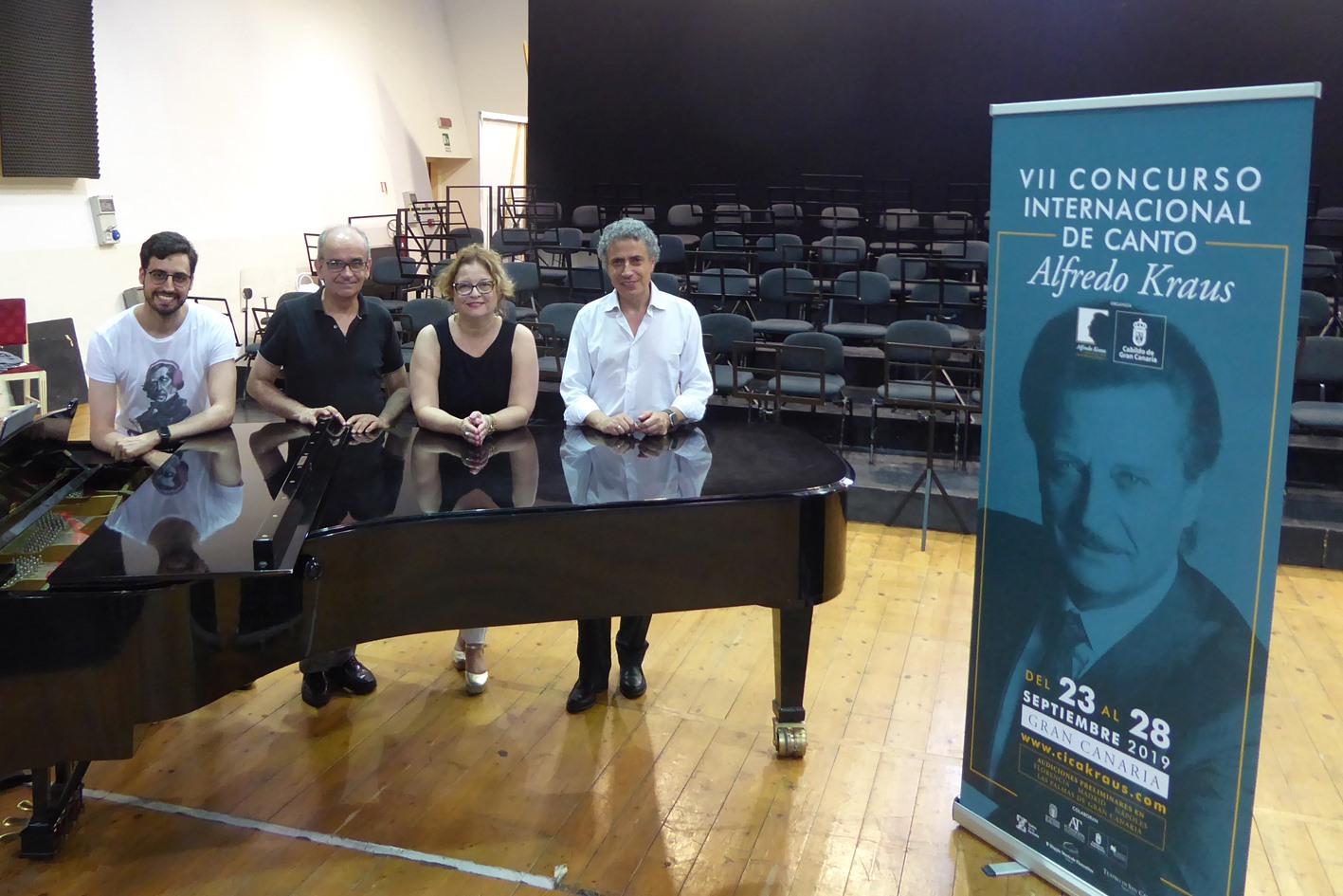 El VII Concurso Alfredo Kraus enfrenta a 82 cantantes