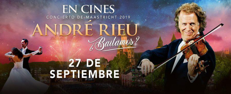 André Rieu llega a los cines de mano de Yelmo