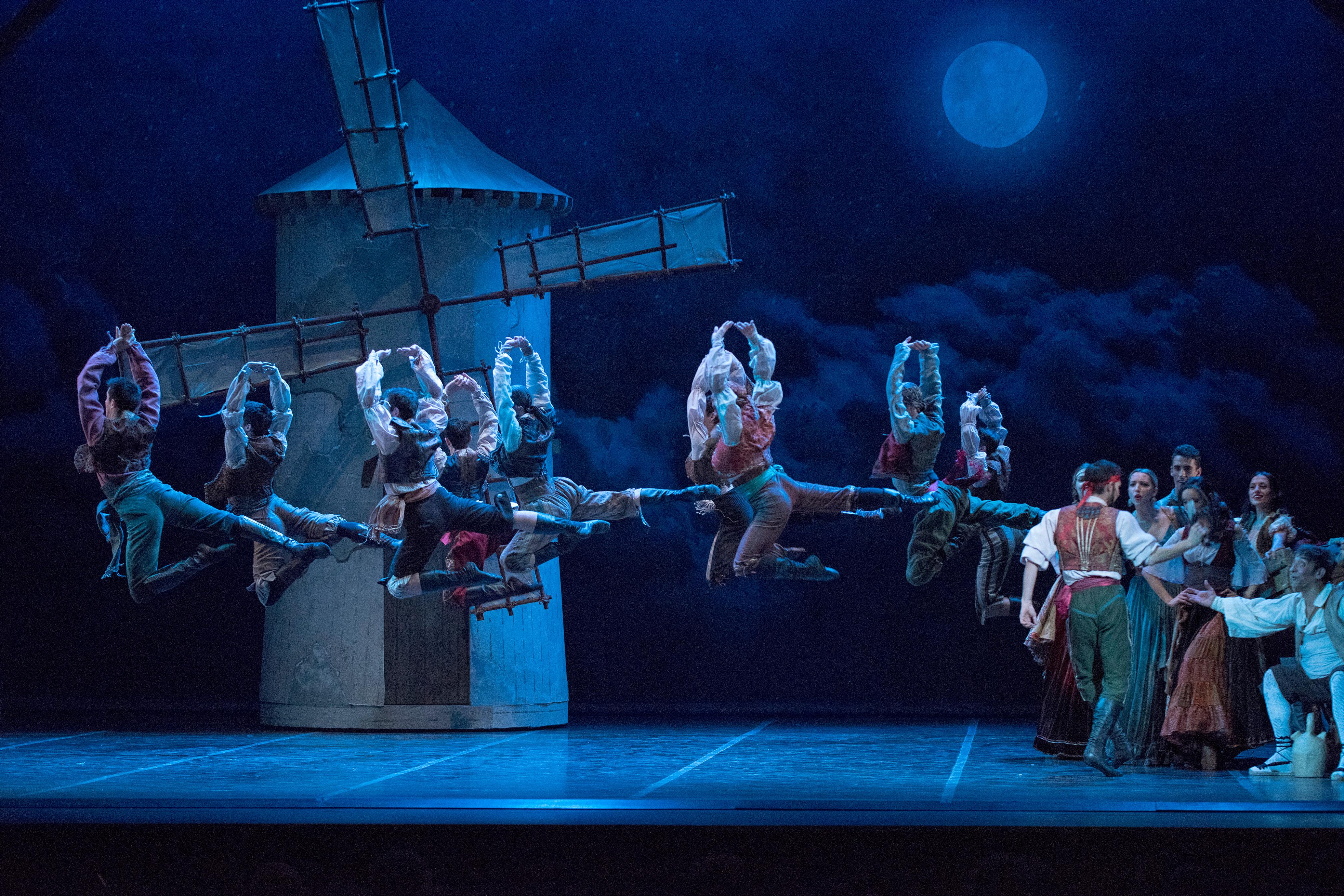 El ballet Don Quijote inaugura la temporada de Baluarte