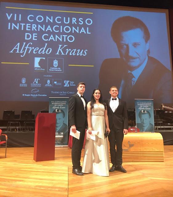 Manuel Fuentes Figueira, ganador del VII Concurso Alfredo Kraus
