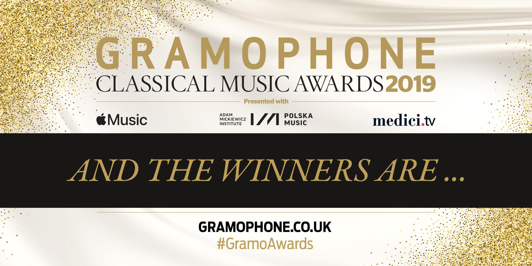 Ganadores de los premios Grammophon 2019