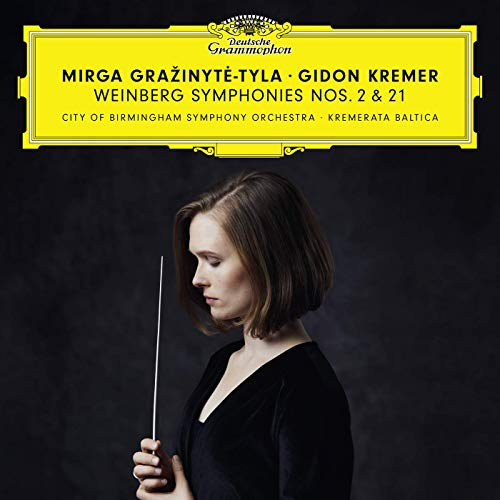 Reseña cd: Weinberg: Symphonies Nos. 2 & 21. MirgaGražinytė-Tyla