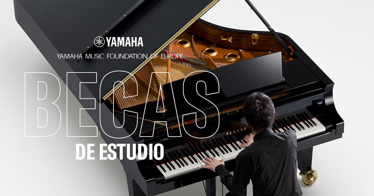 Abierto el plazo para las becas de piano Yamaha 2019-20