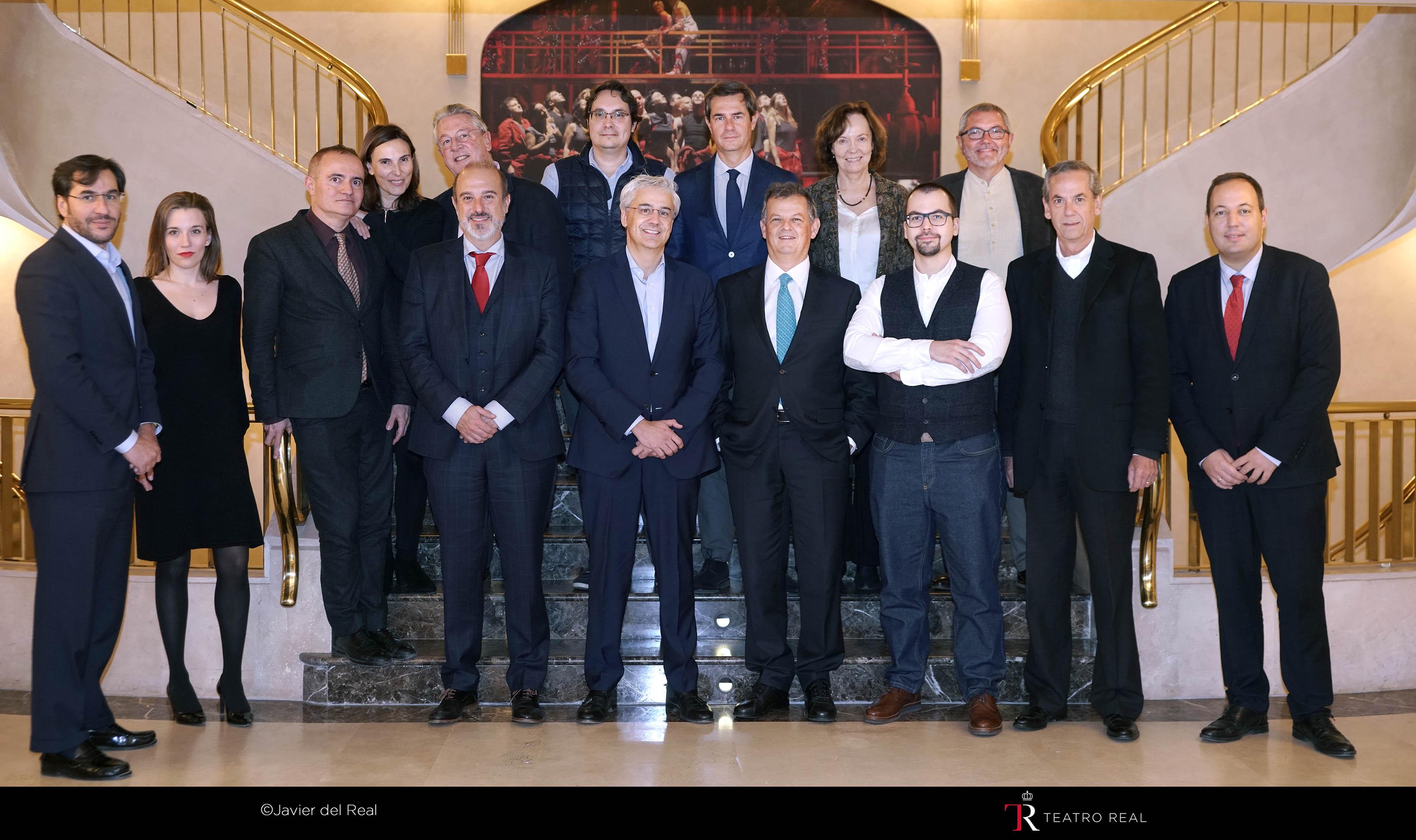 Reunión del jurado de los II Premios Ópera XXI