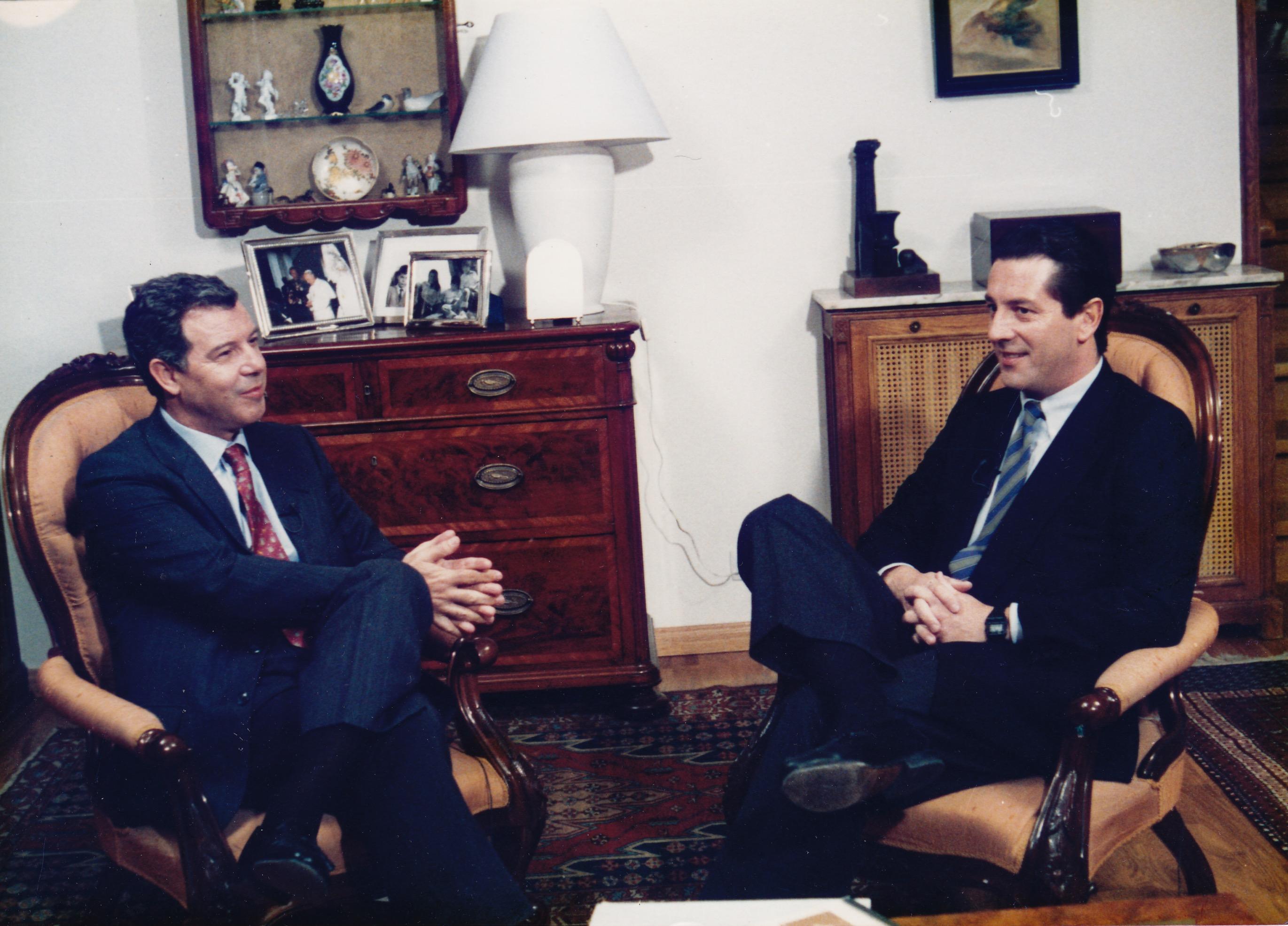 Entrevista a José Ramón Álvarez Rendueles con Gonzalo Alonso