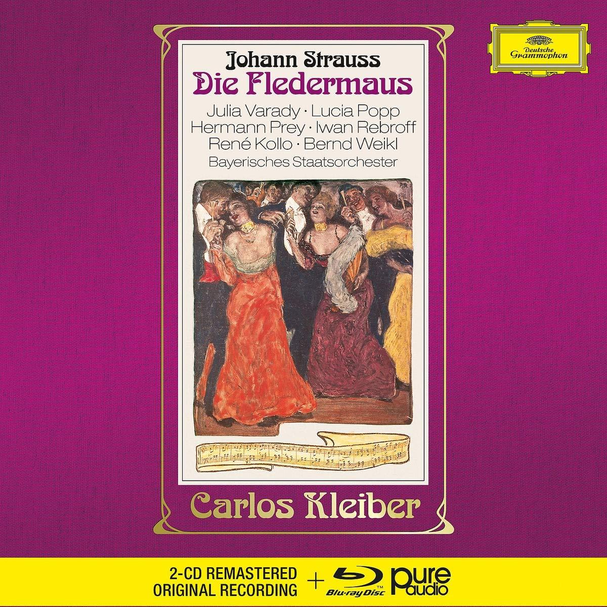 """Reseña cd: """"El Murcielago"""" de Strauss. Carlos Kleiber"""