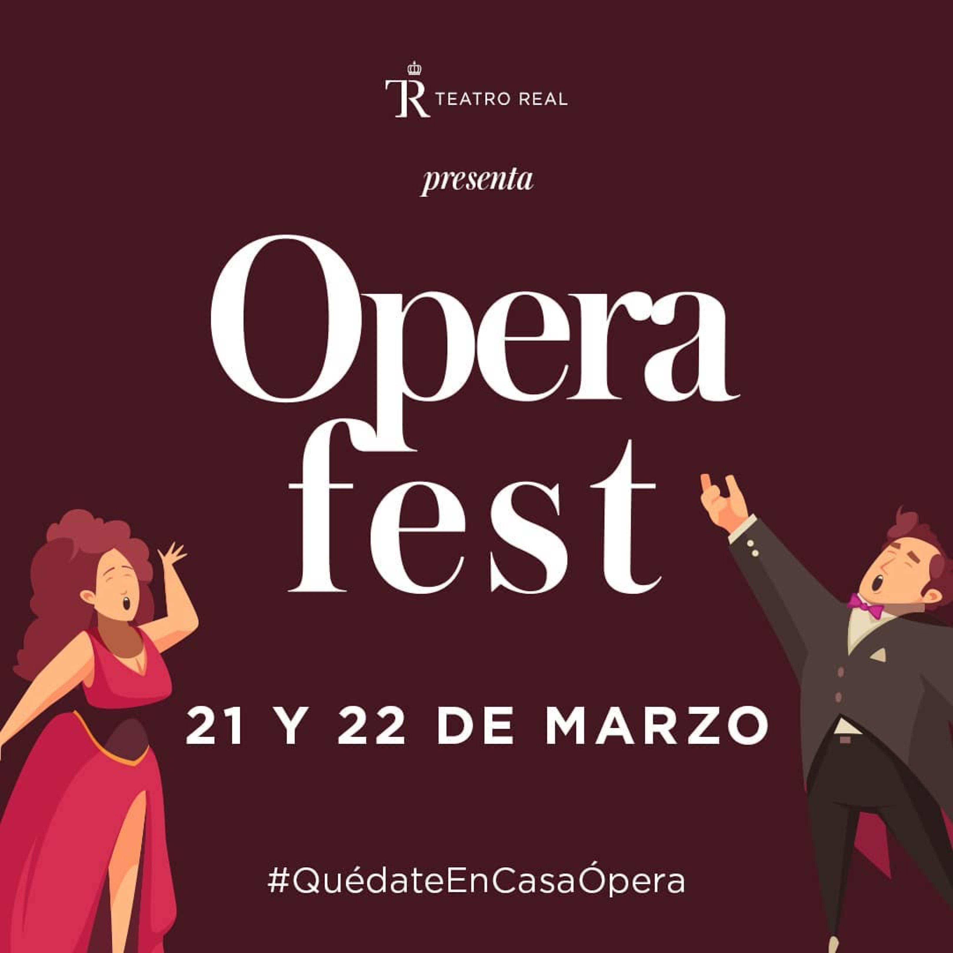 El Teatro Real presenta el #OperaFest