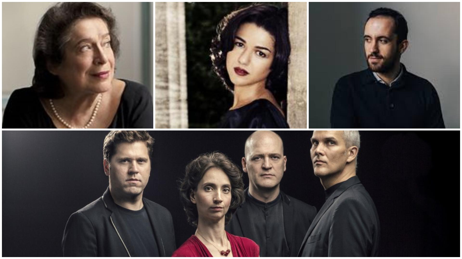 Leonskaja-Buniatishvili-Levit-Cuarteto Casals