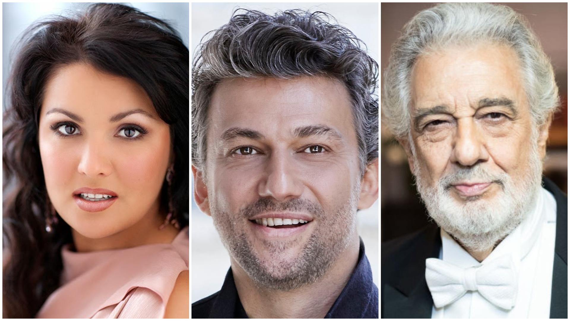 Netrebko, Kaufmann y Plácido Domingo en la temporada 20/21 de la Ópera de Viena