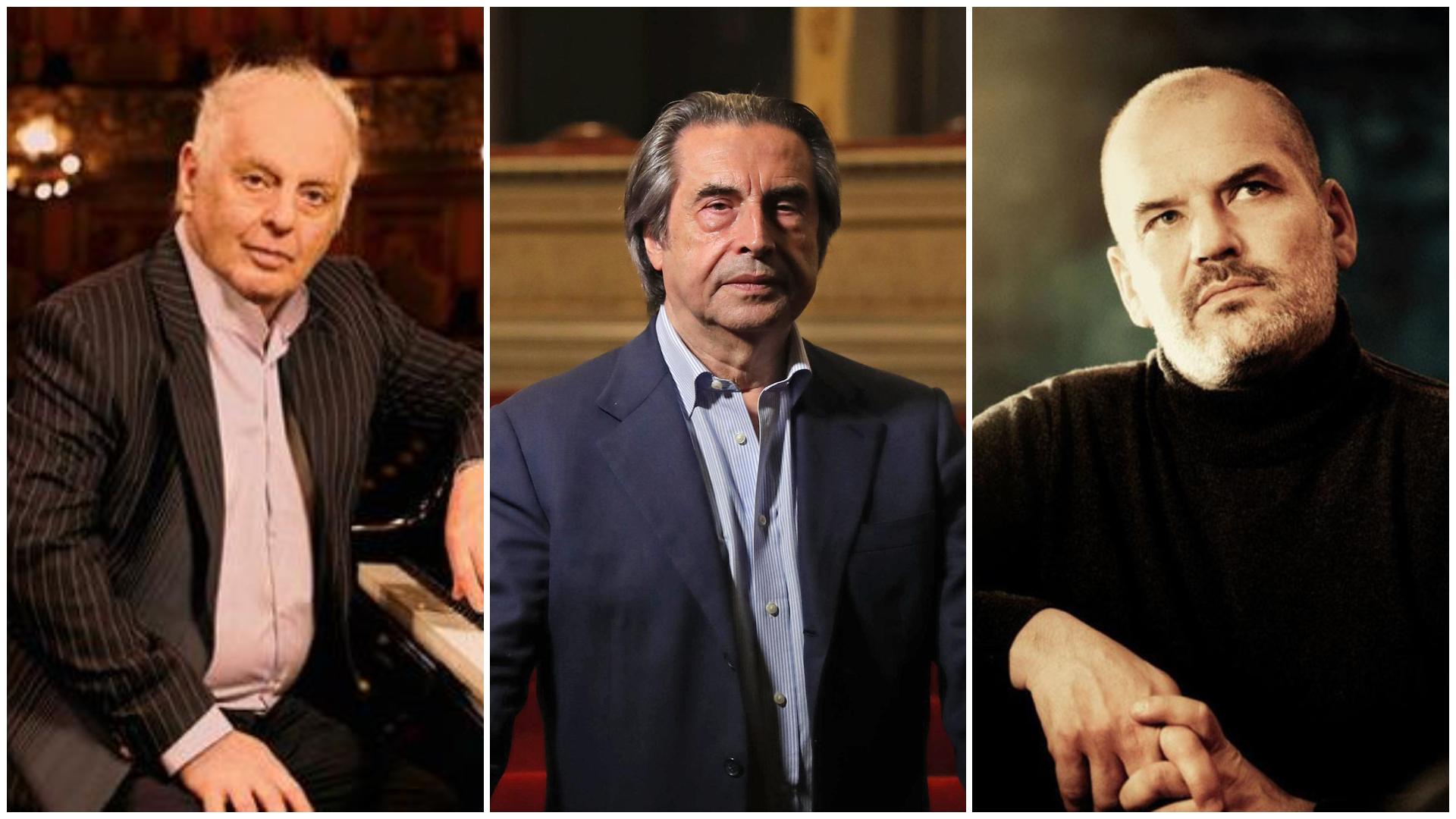 Barenboim, Muti y Boesch en la reapertura del Musikverein de Viena