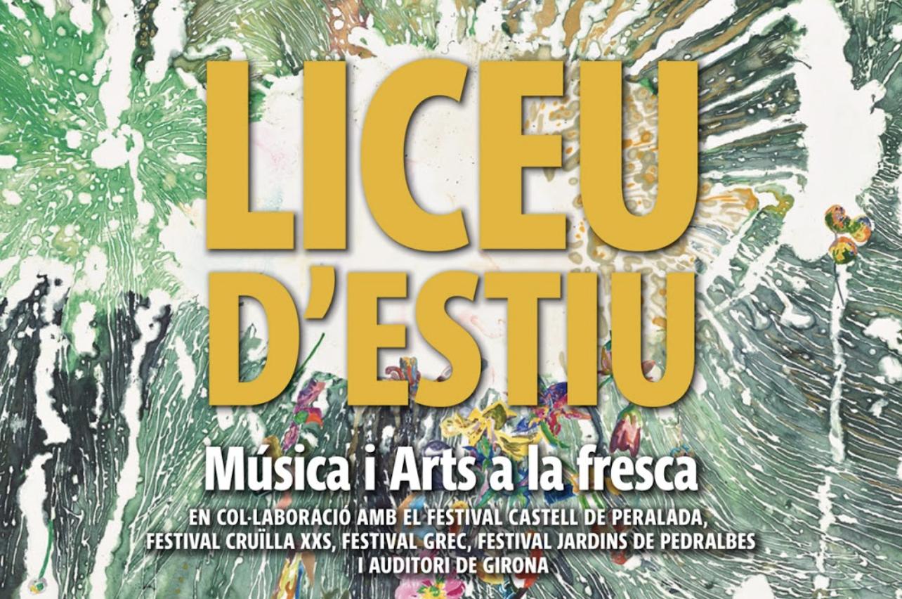 El Liceu d'Estiu llena de conciertos el territorio en colaboración con importantes festivales de Cataluña