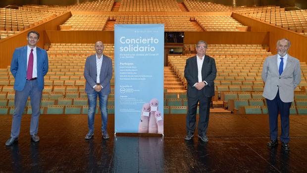 El Teatro de la Maestranza reabre sus puertas con un concierto benéfico