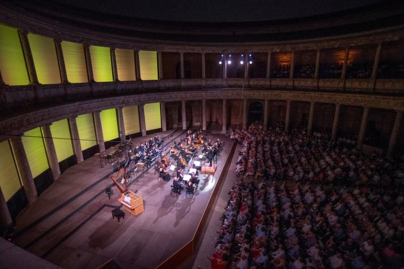 Más de 21.000 espectadores han disfrutado de los conciertos del Festival de Granada