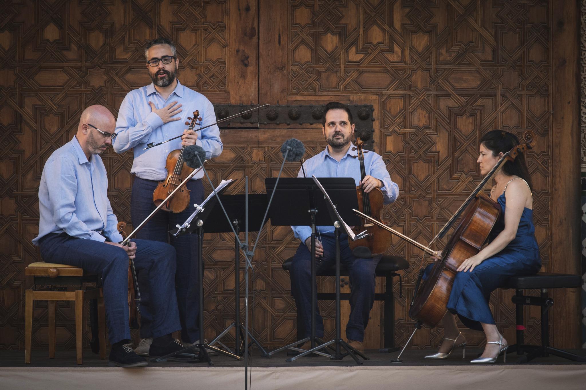 Crítica: el Cuarteto Quiroga en el 69º Festival Internacional de Música y Danza de Granada