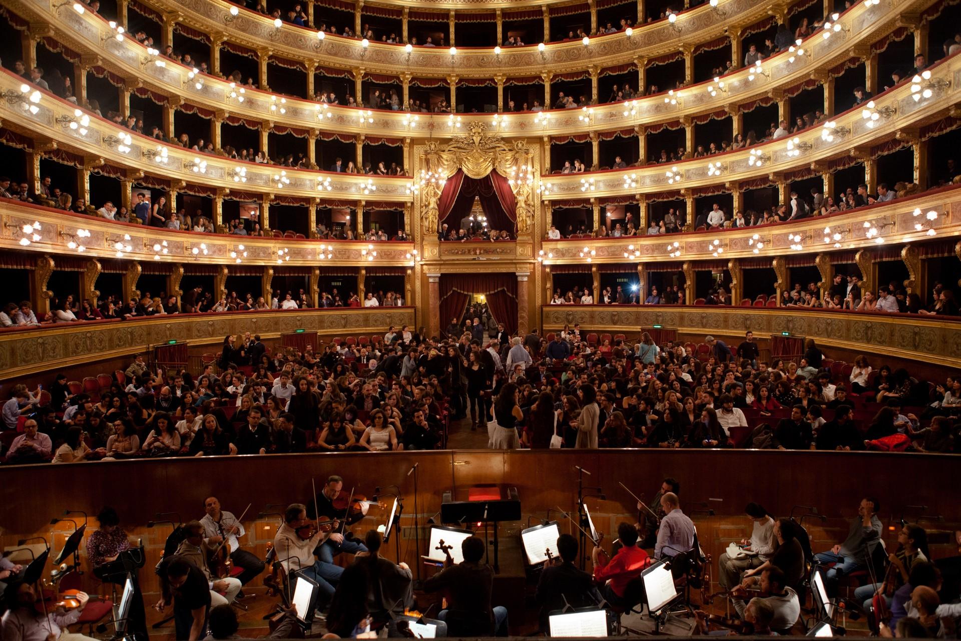 La Orquesta del Teatro Massimo de Palermo, en huelga