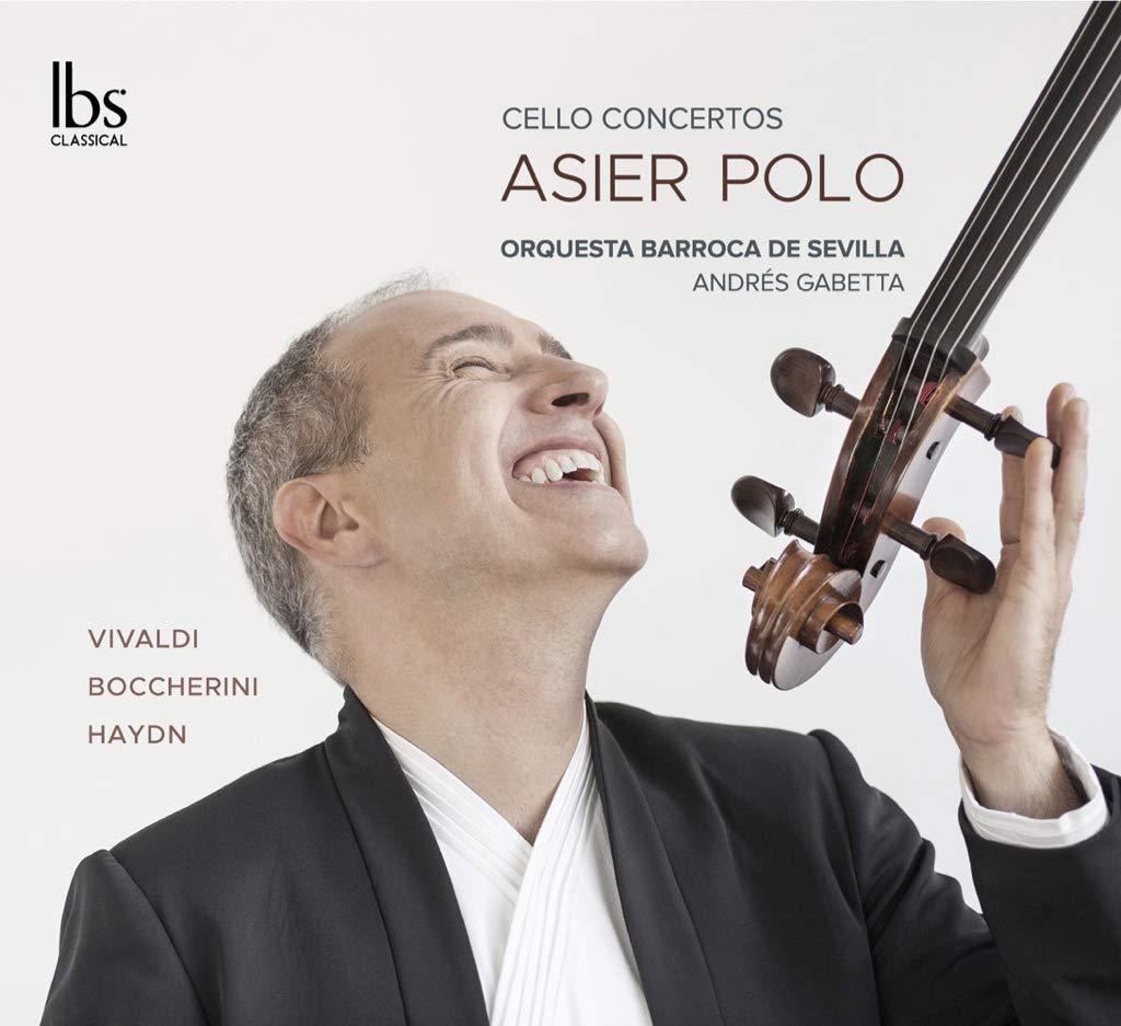 Reseña cd: Asier Polo. Cello concertos. Orquesta Barroca de Sevilla