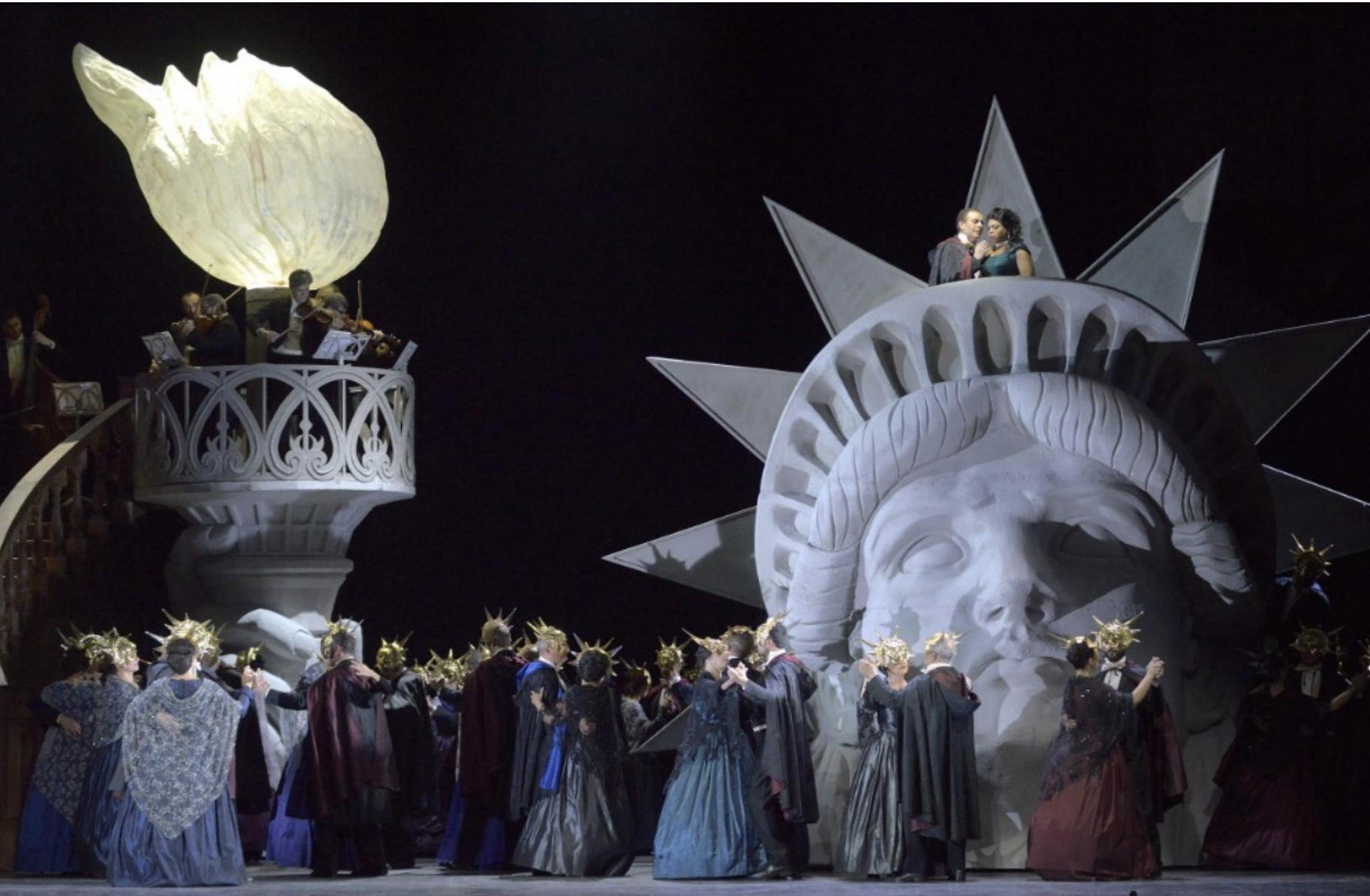 Crítica: Ballo in maschera en el Teatro Real. La música es lo que importa
