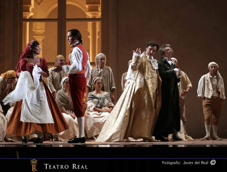 Bodas de Fígaro en el Teatro Real: No hubo quinto bueno