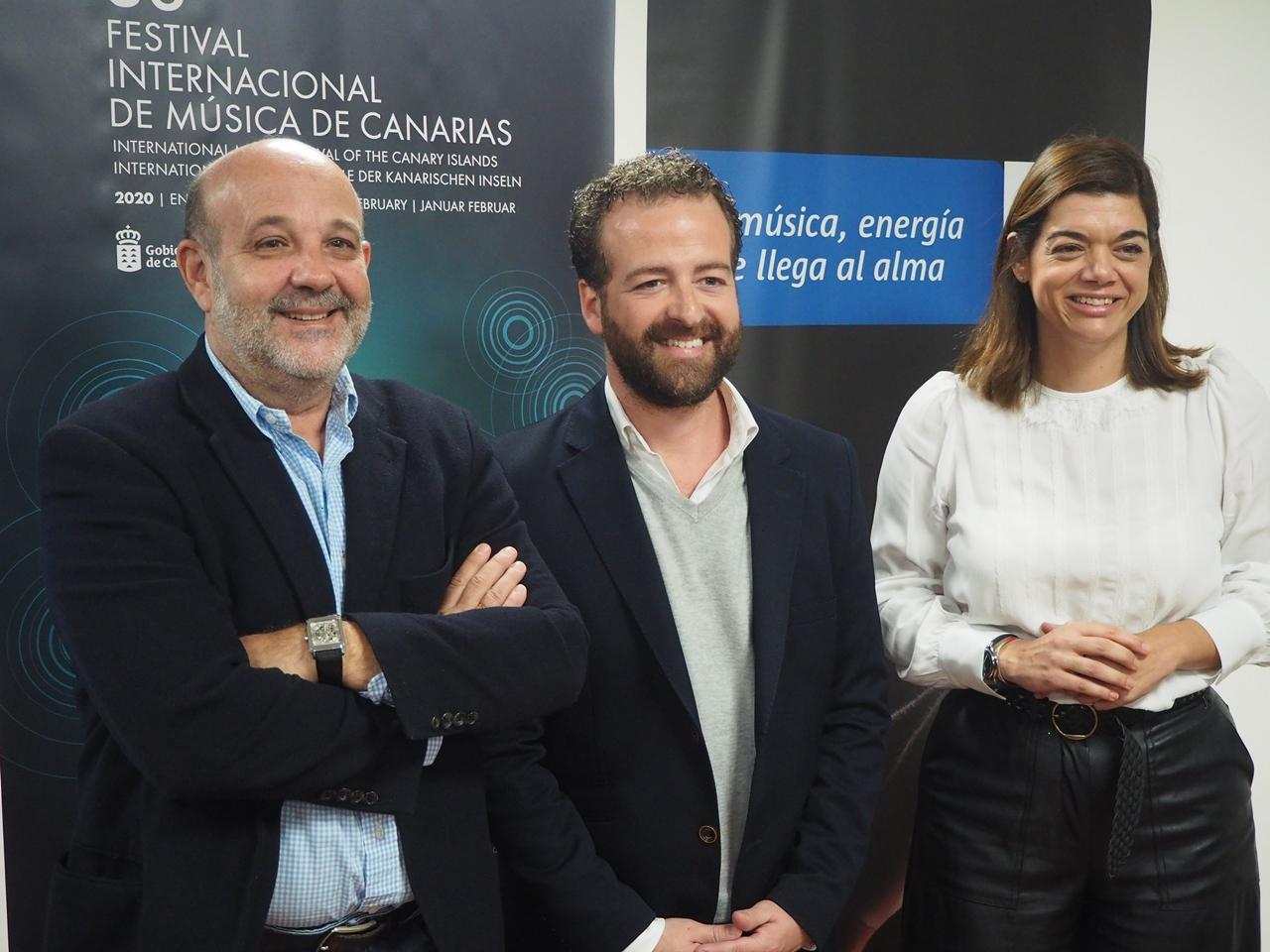 El Festival Internacional de Música de Canarias aplaza su edición de 2021 a julio