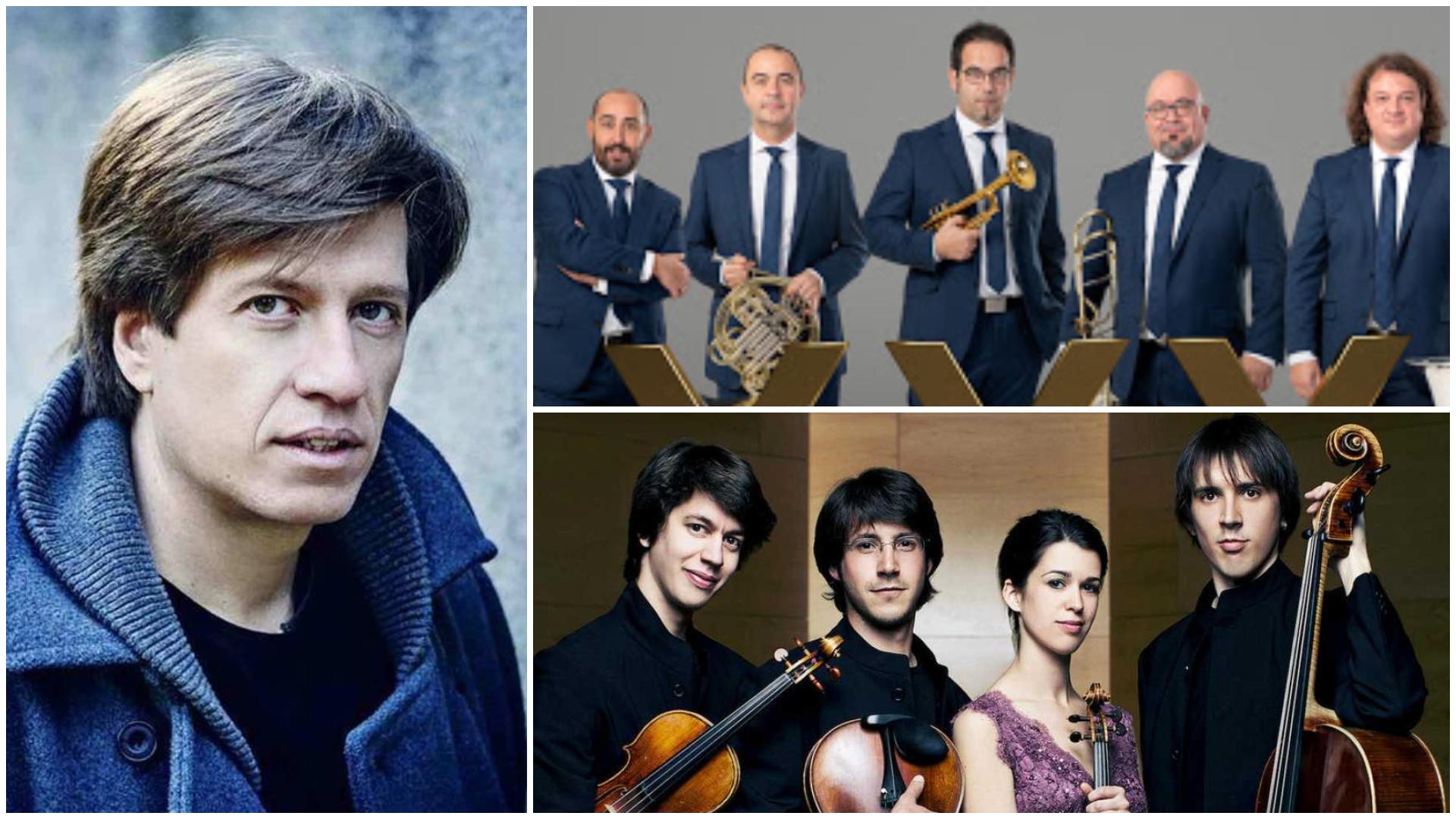 Spanish Brass, Mario Prisuelos y el Cuarteto Gerhard en las XXVIII Jornadas de Música Contemporánea de Segovia