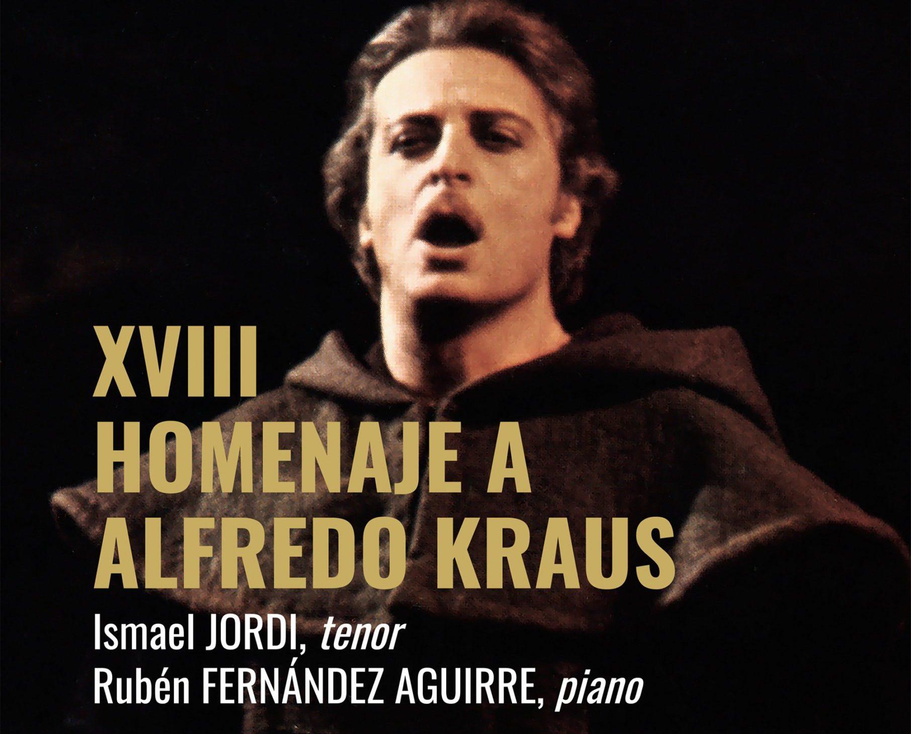 Ismael Jordi lidera el homenaje a Alfredo Kraus en su 93º aniversario