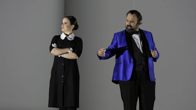 Teodor Currentzis y su orquesta, musicAeterna, artistas en residencia en Lucerna