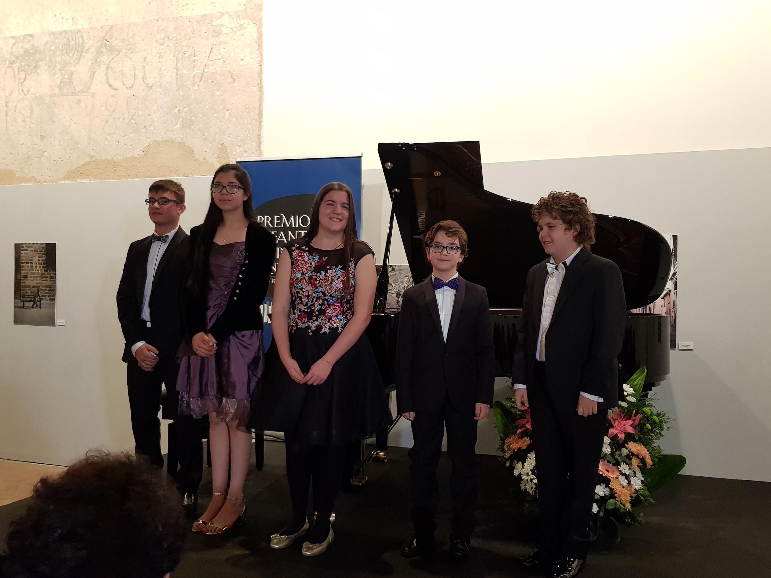 La semifinal del 24 Premio Infantil de Piano Santa Cecilia-Premio Hazen, disponible hoy en streaming