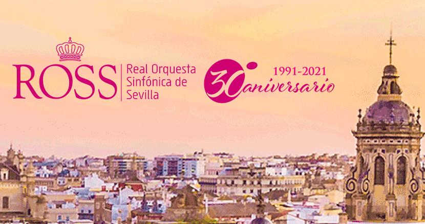La Real Orquesta Sinfónica de Sevilla celebra su 30 aniversario