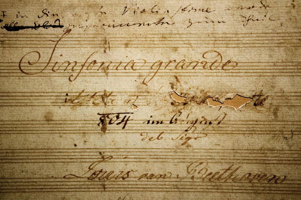 Las nueve sinfonías de Beethoven. La luz del sol distante